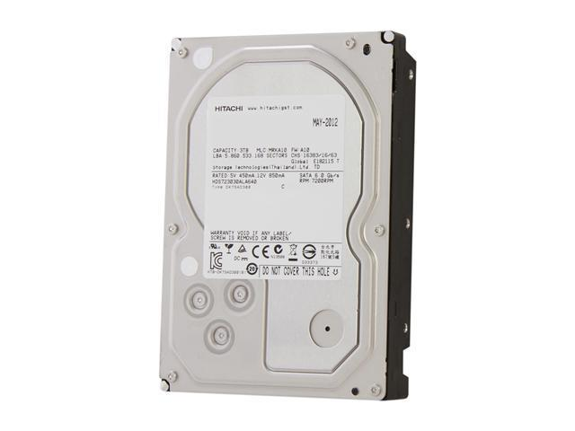 Hitachi GST Deskstar 7K3000 HDS723030ALA640 (0F12450) 3TB 7200 RPM 64MB Cache SATA 6.0Gb/s 3.5