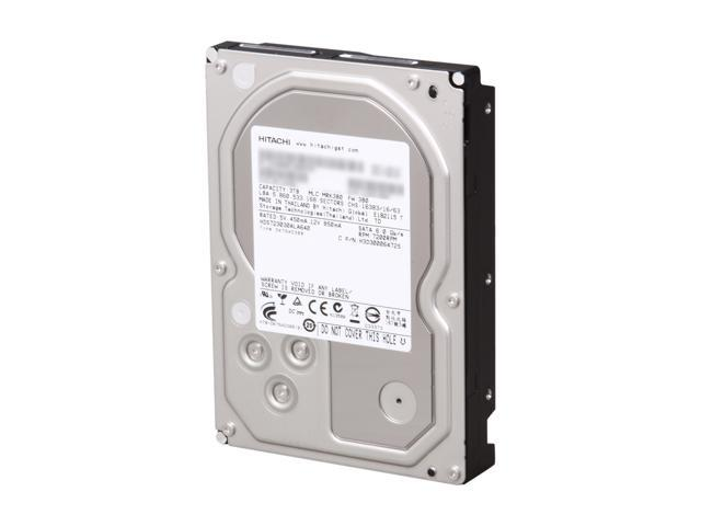 "Hitachi GST Deskstar H3IK30003272SW (0S03208) 3TB 7200 RPM SATA 6.0Gb/s 3.5"" Internal Hard Drive Bare Drive"