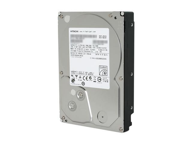 Hitachi GST Deskstar 5K3000 HDS5C3020ALA632 (0F12117) 2TB 5400 RPM 32MB Cache SATA 6.0Gb/s 3.5
