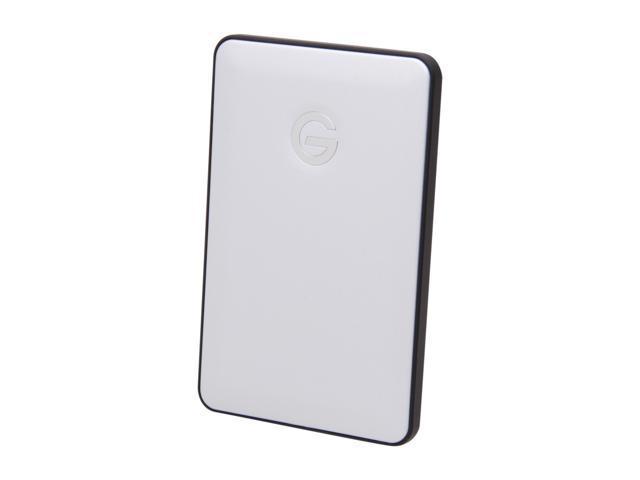 G-Technology G-DRIVE slim 500GB USB 2.0 External Hard Drive Model 0G01995