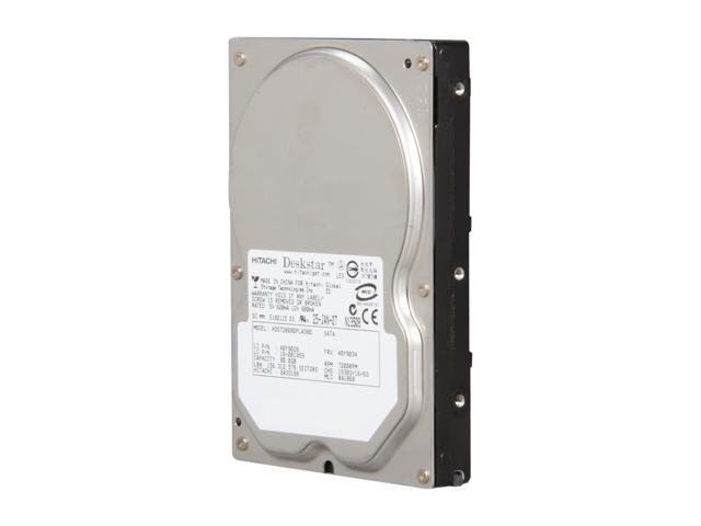 "Hitachi GST Deskstar 7K80 HDS728080PLA380 - 0A30356 80GB 7200 RPM 8MB Cache SATA 3.0Gb/s 3.5"" Internal Hard Drive Bare Drive"