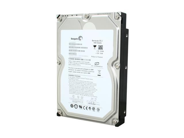 "Seagate Barracuda ES.2 ST31000340NS 1TB 7200 RPM 32MB Cache SATA 3.0Gb/s 3.5"" Internal Hard Drive Bare Drive"