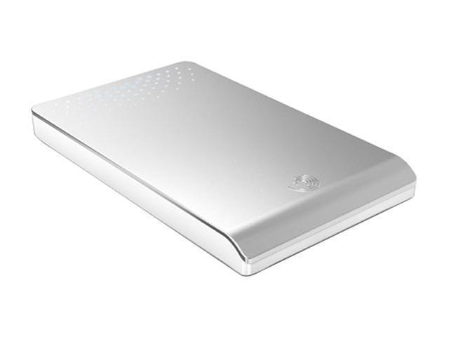 "Seagate FreeAgent Go 500GB USB 2.0 2.5"" External Hard Drive Titanium Silver"