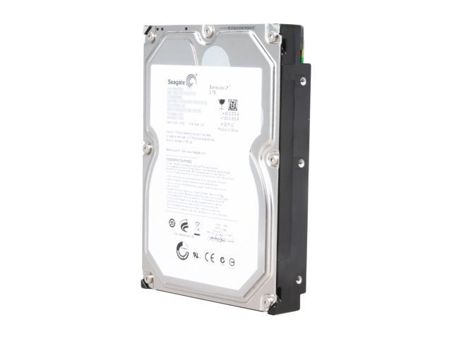 "Seagate Barracuda LP ST32000542AS 2TB 5900 RPM 32MB Cache SATA 3.0Gb/s 3.5"" Hard Drive Bare Drive"