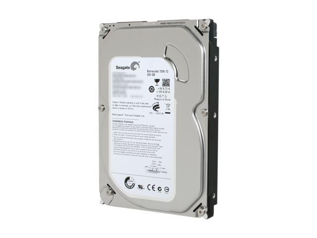 "Seagate Barracuda 7200.12 ST3250318AS 250GB 7200 RPM 8MB Cache SATA 3.0Gb/s 3.5"" Internal Hard Drive Bare Drive"