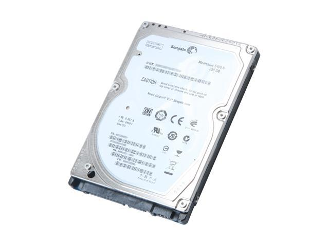 Seagate Momentus 5400.6 ST9250315AS 250GB 5400 RPM 8MB Cache SATA 3.0Gb/s 2.5