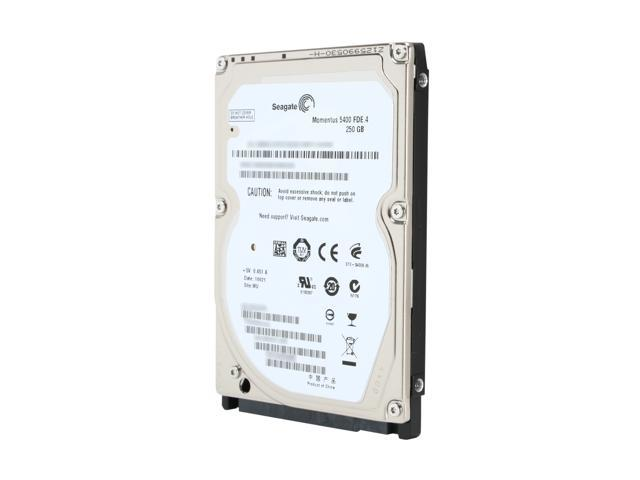 Seagate Momentus 5400 FDE.4 ST9250317AS 250GB 5400 RPM 8MB Cache SATA 3.0Gb/s 2.5