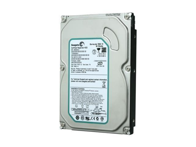 Seagate Barracuda 7200.10 RFHST380815AS 80GB 7200 RPM 8MB Cache SATA 3.0Gb/s 3.5