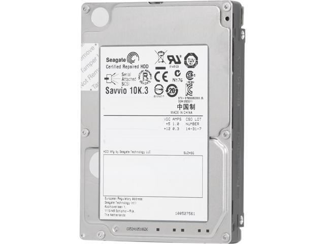 "Seagate Savvio 10K.3 ST9300603SS 300GB 10000 RPM 16MB Cache SAS 6Gb/s 2.5"" Internal Enterprise Hard Drive Bare Drive"