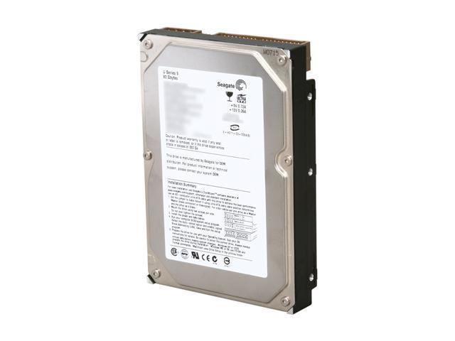 "Seagate U Series 9 ST380012ACE 80GB 1MB Cache IDE Ultra ATA100 / ATA-6 3.5"" Internal Hard Drive Bare Drive"