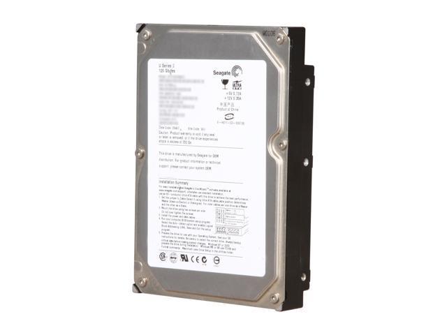 "Seagate U Series 9 ST3120025ACE 120GB IDE Ultra ATA100 / ATA-6 3.5"" Internal Hard Drive Bare Drive"