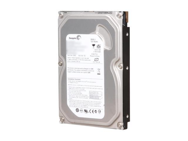 """Seagate ST3120215ACE 120GB 7200 RPM 2MB Cache IDE Ultra ATA100 / ATA-6 3.5"""" Internal Hard Drive Bare Drive"""