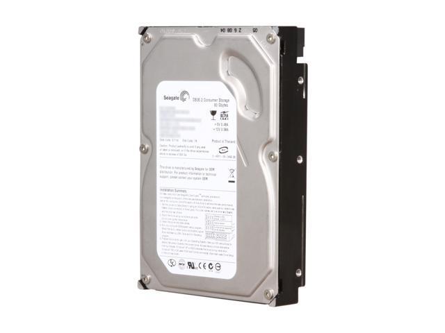 "Seagate DB35 Series 7200.2 ST3802110ACE 80GB 7200 RPM 2MB Cache IDE Ultra ATA66 / ATA-5 3.5"" Internal Hard Drive Bare Drive"