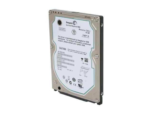 "Seagate ST980813AS 80GB 7200 RPM SATA 3.0Gb/s 2.5"" Internal Notebook Hard Drive Bare Drive"