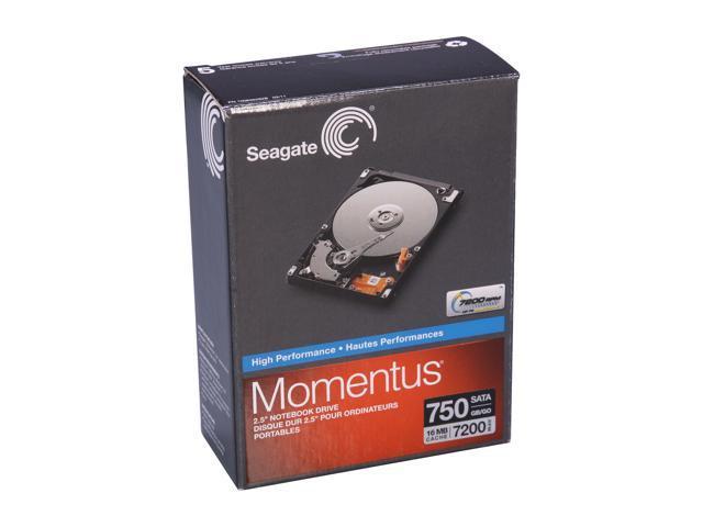 Seagate Momentus ST907503N1A1AS-RK 750GB 7200 RPM SATA 3.0Gb/s 2.5