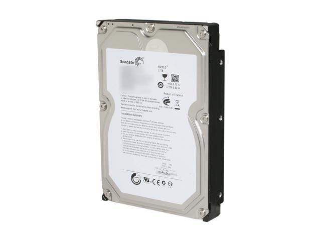 Seagate SV35 Series ST31000526SV 1TB 7200 RPM 32MB Cache SATA 6.0Gb/s 3.5