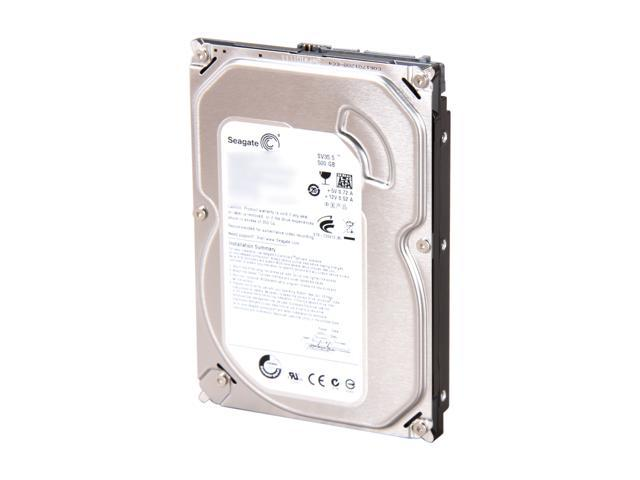"Seagate SV35 Series ST3500411SV 500GB 7200 RPM 16MB Cache SATA 6.0Gb/s 3.5"" Internal Hard Drive Bare Drive"