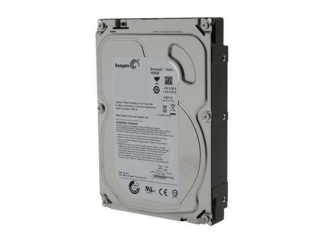 Seagate Barracuda Green ST1000DL002 1TB 5900 RPM 32MB Cache SATA 3.0Gb/s 3.5