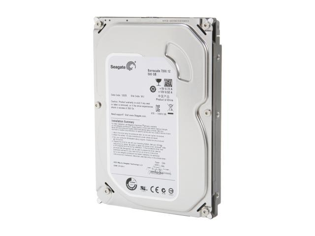 Seagate BarraCuda ST500DM002 500GB 7200 RPM 16MB Cache SATA 6.0Gb/s 3.5