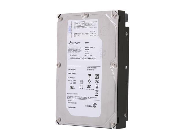 Seagate NL35 ST3500641NS 500GB 7200 RPM 16MB Cache SATA 3.0Gb/s 3.5