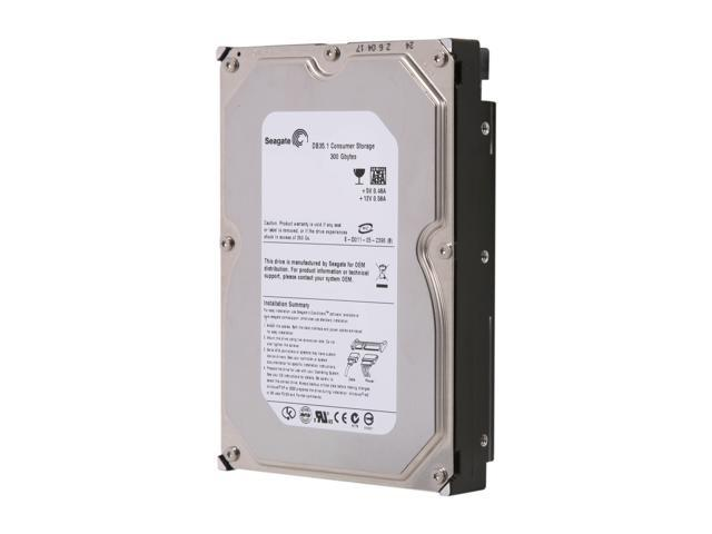 "Seagate DB35 ST3300831SCE 300GB 7200 RPM 8MB Cache SATA 1.5Gb/s 3.5"" Internal Hard Drive Bare Drive"