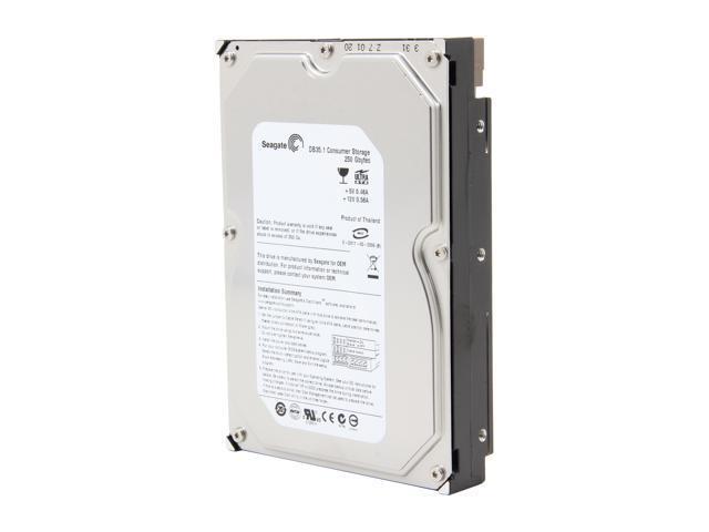 "Seagate DB35 Series ST3250823ACE 250GB 7200 RPM 8MB Cache IDE Ultra ATA100 / ATA-6 3.5"" Internal Hard Drive Bare Drive"