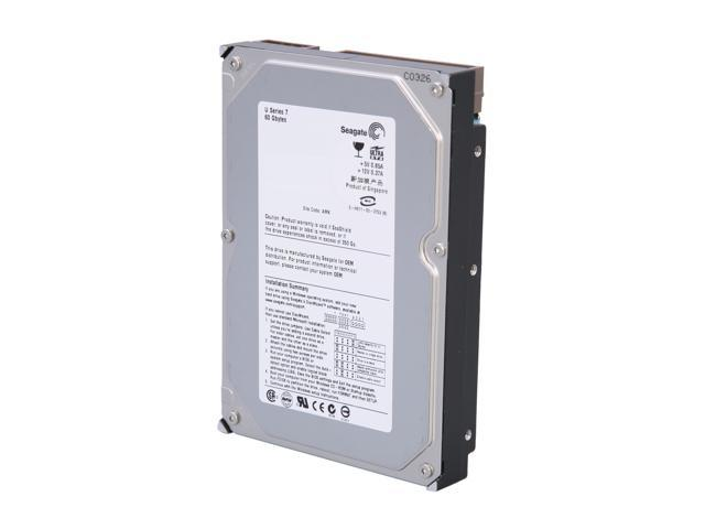 "Seagate ST360012A 60GB 5400 RPM 1MB Cache IDE Ultra ATA100 / ATA-6 3.5"" Internal Hard Drive Bare Drive"