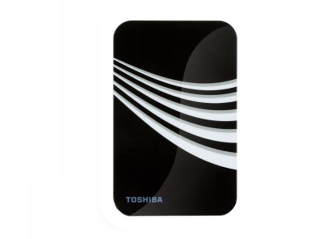 "TOSHIBA 500GB USB 2.0 2.5"" External Hard Drive Frost White & Black"