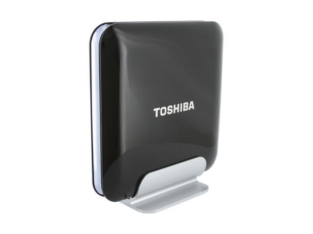 "TOSHIBA 1TB USB 2.0 / eSATA 3.5"" External Hard Drive Black"