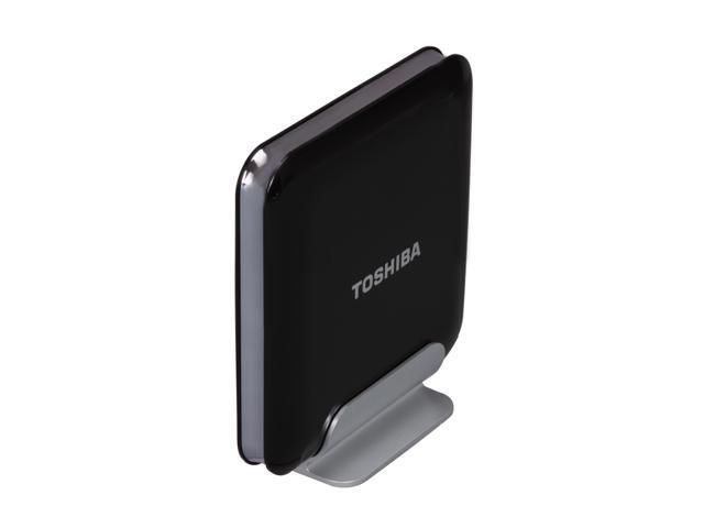 "TOSHIBA 2TB USB 2.0 / eSATA 3.5"" External Hard Drive Black"