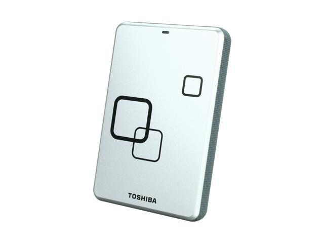 "TOSHIBA Canvio Plus 1TB USB 2.0 2.5"" Portable Hard Drive Satin Silver"