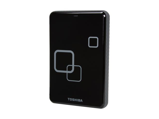 "TOSHIBA Canvio Plus 750GB USB 2.0 2.5"" Portable Hard Drive Raven Black"
