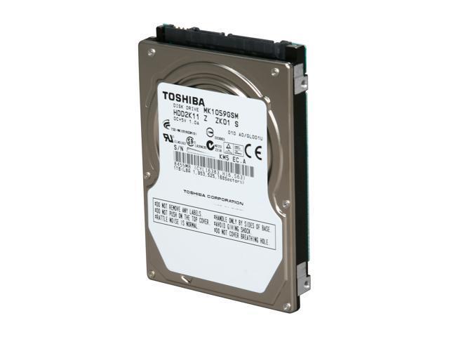 TOSHIBA MK1059GSM 1TB 5400 RPM 8MB Cache SATA 3.0Gb/s 12.5mm Internal Notebook Hard Drive Bare Drive