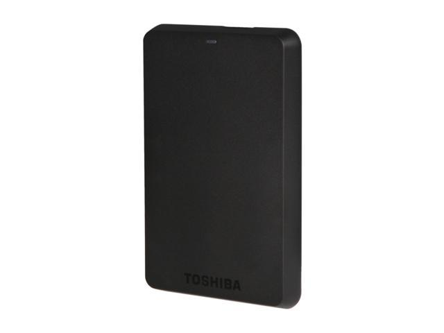 TOSHIBA 750GB Canvio Basics 3.0 Portable Hard Drive USB 3.0 Model HDTB107XK3AA Black