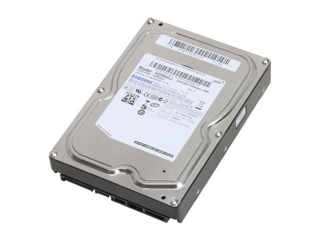 SAMSUNG Spinpoint F1 HD502lJ 500GB 7200 RPM 16MB Cache SATA 3.0Gb/s 3.5