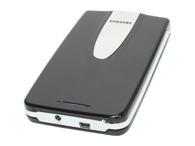 "SAMSUNG 160GB USB 2.0 2.5"" External Hard Drive (black)"