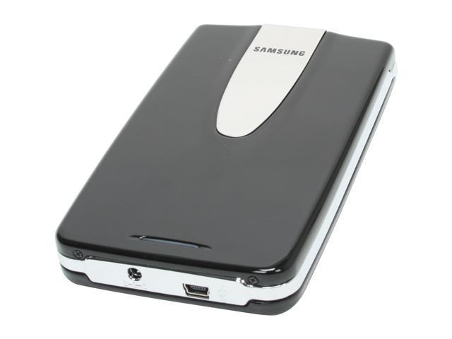 """SAMSUNG 160GB USB 2.0 2.5"""" External Hard Drive (black)"""