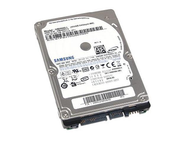 SAMSUNG Spinpoint M6 HM400LI 400GB 5400 RPM 8MB Cache SATA 3.0Gb/s 2.5