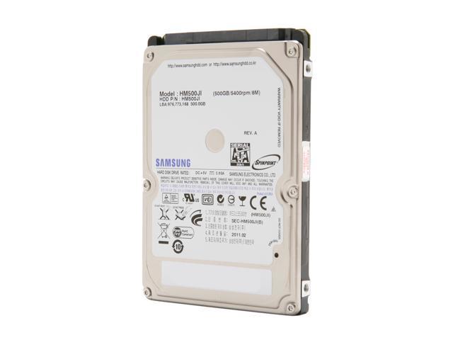 "SAMSUNG Spinpoint M7 HM500JI 500GB 5400 RPM 8MB Cache SATA 3.0Gb/s 2.5"" Internal Notebook Hard Drive Bare Drive"