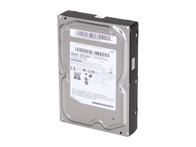 "SAMSUNG EcoGreen F2 HD154UI 1.5TB 32MB Cache SATA 3.0Gb/s 3.5"" Internal Hard Drive Bare Drive"