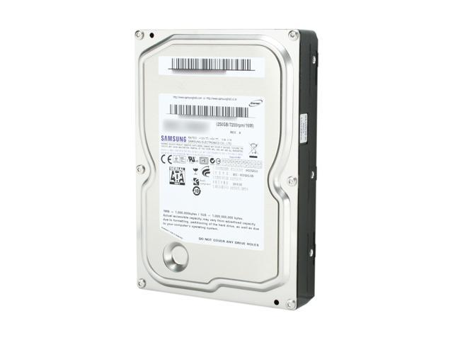 "SAMSUNG Spinpoint F3 ST250DM001 / HD253GJ 250GB 7200 RPM 16MB Cache SATA 3.0Gb/s 3.5"" Internal Hard Drive Bare Drive"