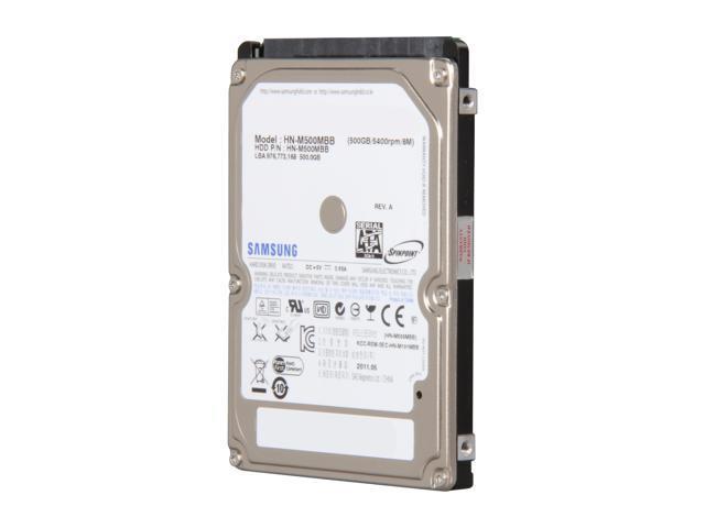 "SAMSUNG Spinpoint M8 ST500LM012 (HN-M500MBB/EX2) 500GB 5400 RPM 8MB Cache SATA 6.0Gb/s 2.5"" Internal Notebook Hard Drive ..."