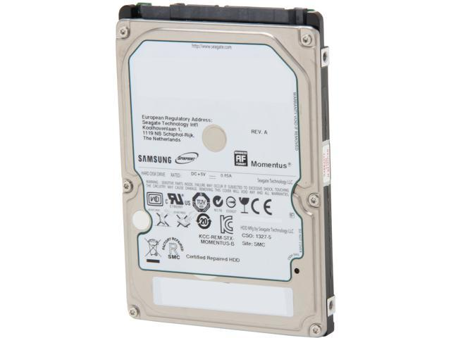 """SAMSUNG Spinpoint M8 ST1000LM024 1TB 5400 RPM 8MB Cache SATA 3.0Gb/s 2.5"""" Internal Notebook Hard Drive Bare Drive"""