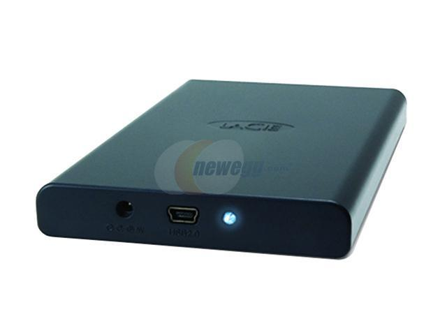 "LACIE Mobile Disk 160GB 5400 RPM 2.5"" USB 2.0 External Hard Drive Model 301266"