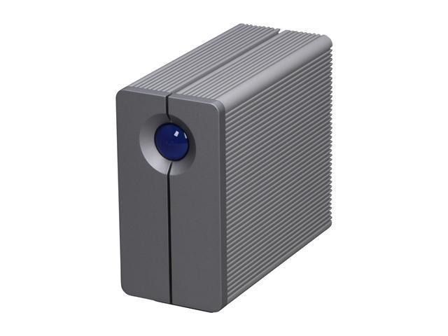 """LaCie 2big Quadra 3TB USB 2.0 / Firewire400 / Firewire800 / eSATA 3.5"""" External Hard Drive"""