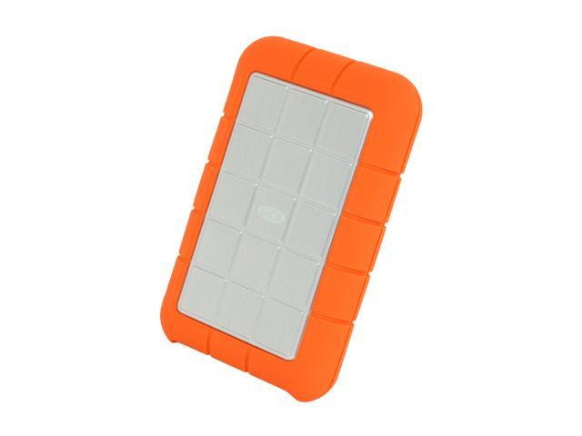 "LaCie Rugged 1TB USB 2.0 / Firewire400 / Firewire800 2.5"" Portable External Hard Drive"