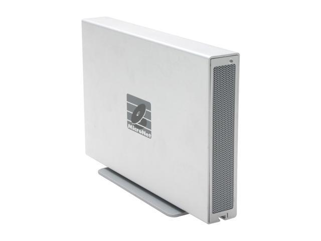 "MicroNet Platinum XL 500GB Firewire400 / Firewire800 3.5"" External Hard Drive"