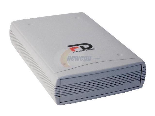 Fantom Drives Premier Slim 80GB USB 2.0 External Hard Drive FDU80