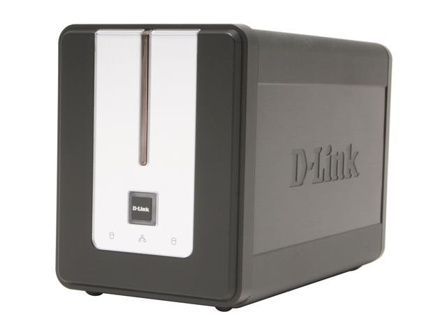 D-Link DNS-323 2-Bay Network Storage Enclosure