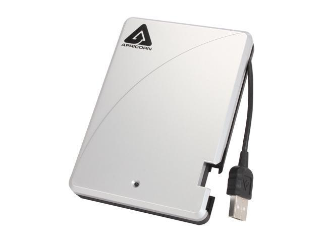 APRICORN 500GB External Hard Drive USB 2.0 Model A25-USB-500